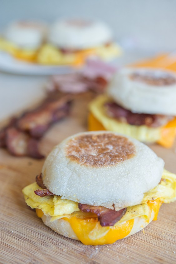 Freezer Meals: Make-Ahead Freezer Breakfast Sandwiches
