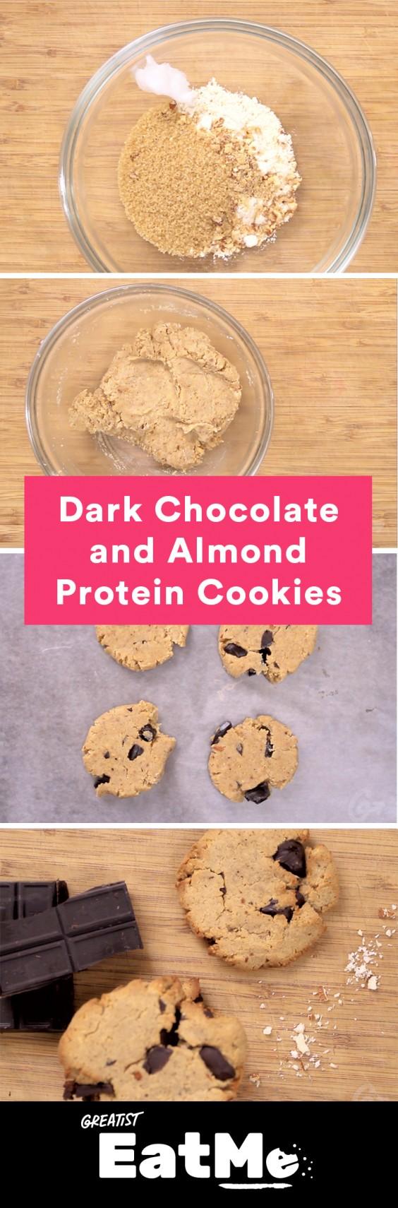 Eat Me Video: Dark Chocolate and Almond Cookies