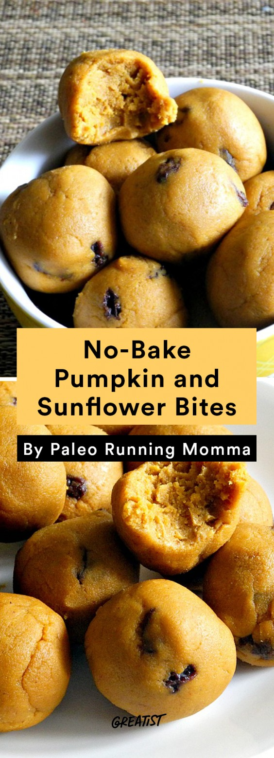 Travel Snacks: Pumpkin and Sunflower Bites