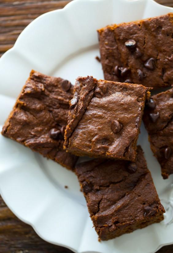 Veg Desserts: Pumpkin Brownies