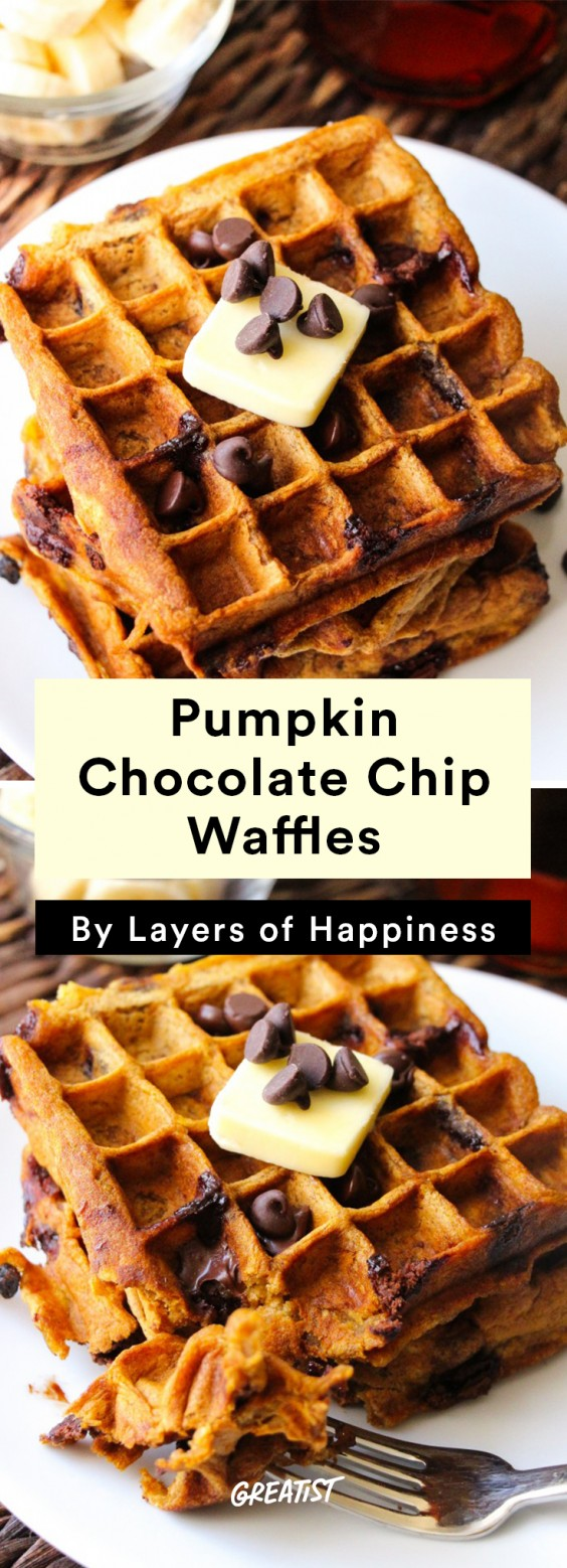Fall Brunch: Waffles