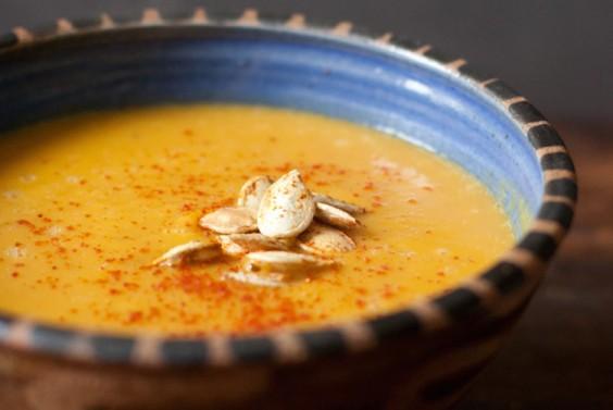 19. Thai-Spiced Pumpkin Soup