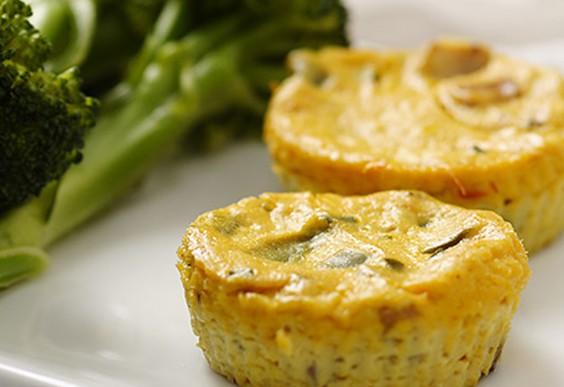5. Mini Crustless Tofu Quiches