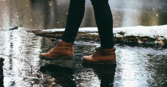 Feet in the Rain