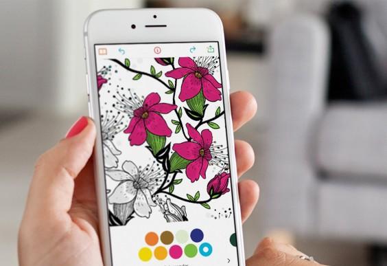 Recolor App Coloring Page
