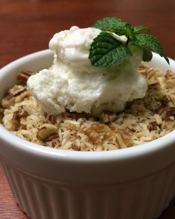 spaghetti squash rice pudding