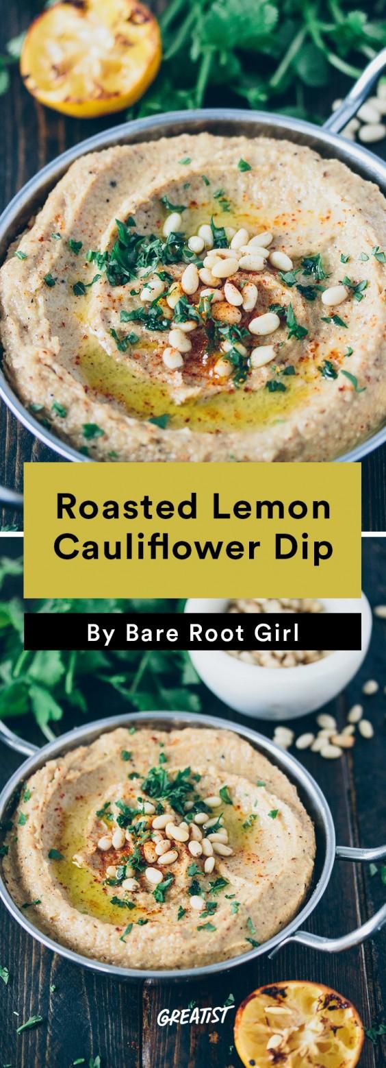 Better Dips: Lemon Cauliflower