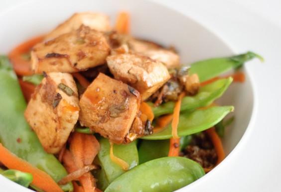 35. Roasted Tofu With Quinoa