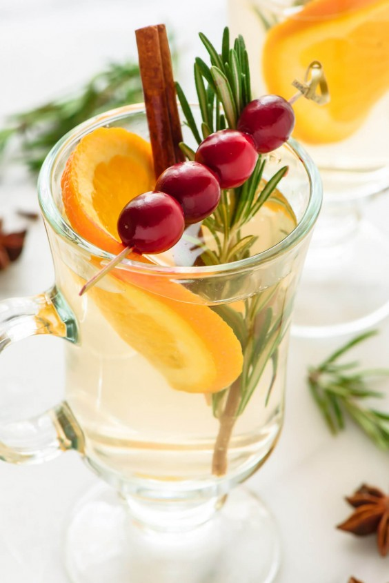 mulled wine: Rum-Spiked