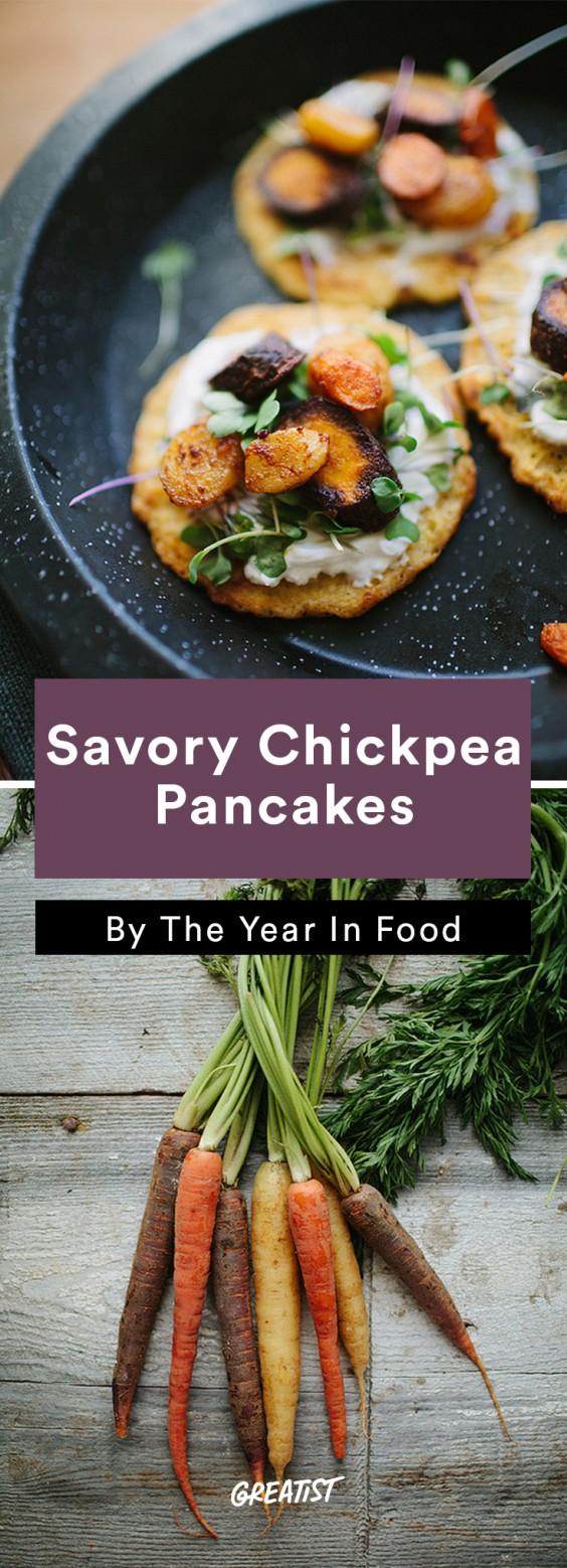 Chickpea Flour: Savory Chickpea Pancakes