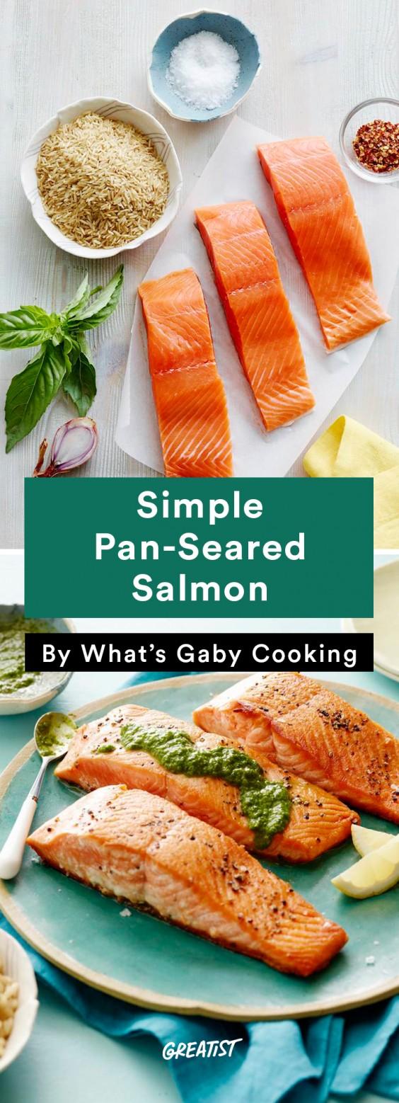 Salmon: Pan-Seared