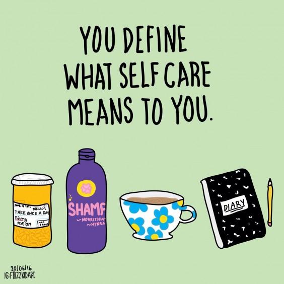 self care illustrations
