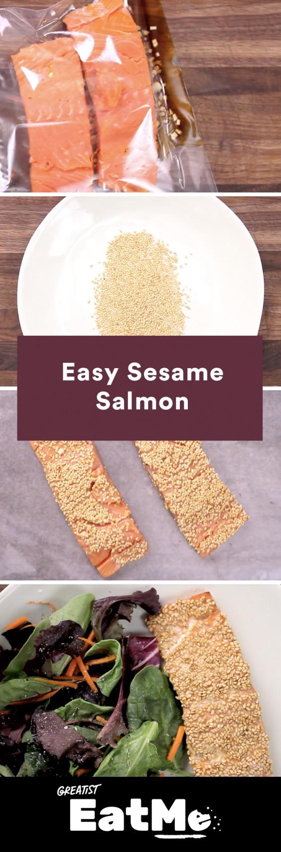 Eat Me Video: Sesame Salmon