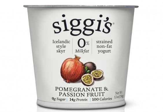 Siggi's Pomegranate and Passion Fruit Yogurt