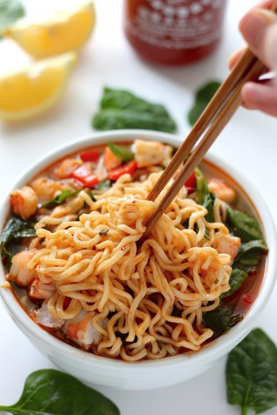 20 min. spicy ramen