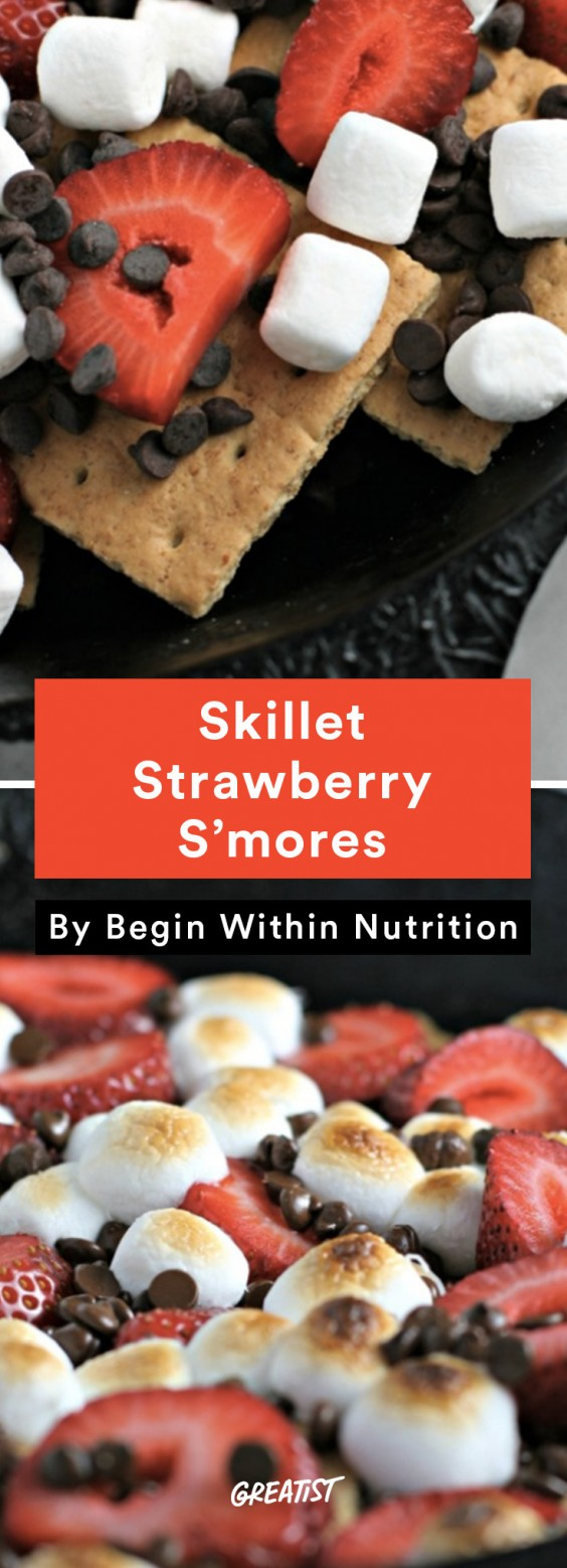 S'mores: Skillet Strawberry
