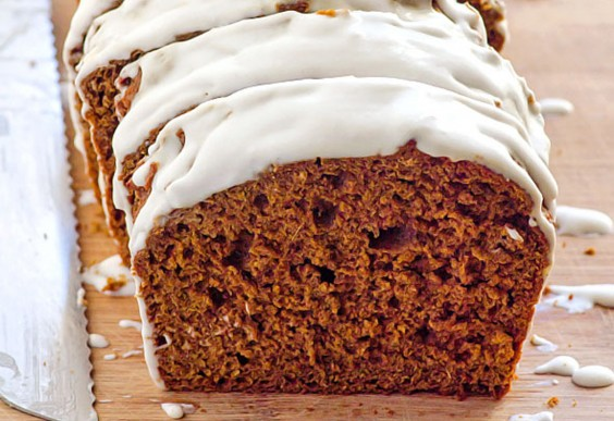2. Clean Eating Gingerbread Loaf