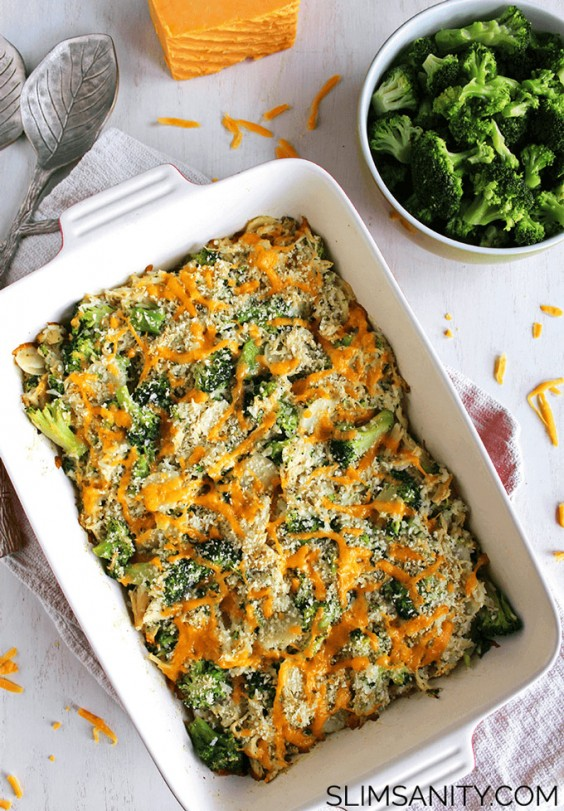 Healthy Casseroles: Chicken and Broccoli
