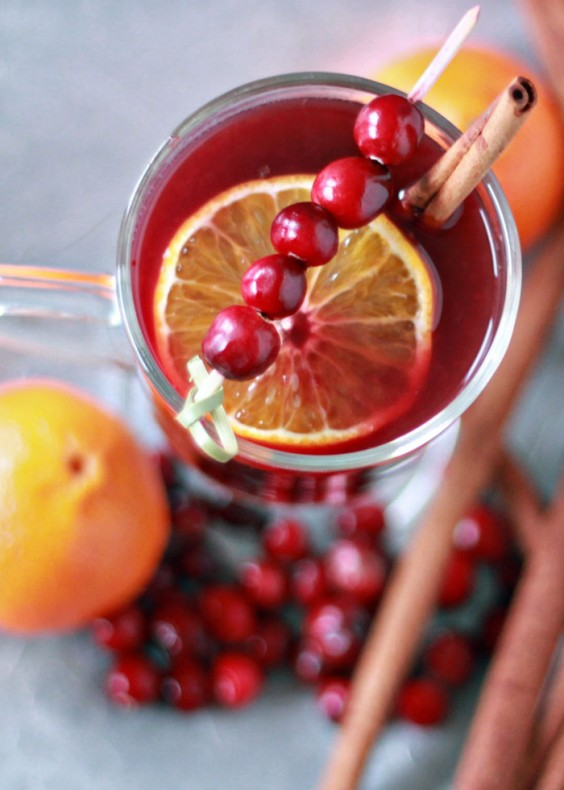 mulled wine: Slow-Cooker