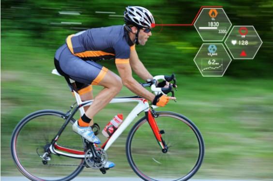 Smart Bike Helmet Brings Fighter Pilot Tech To Fitness Tracking