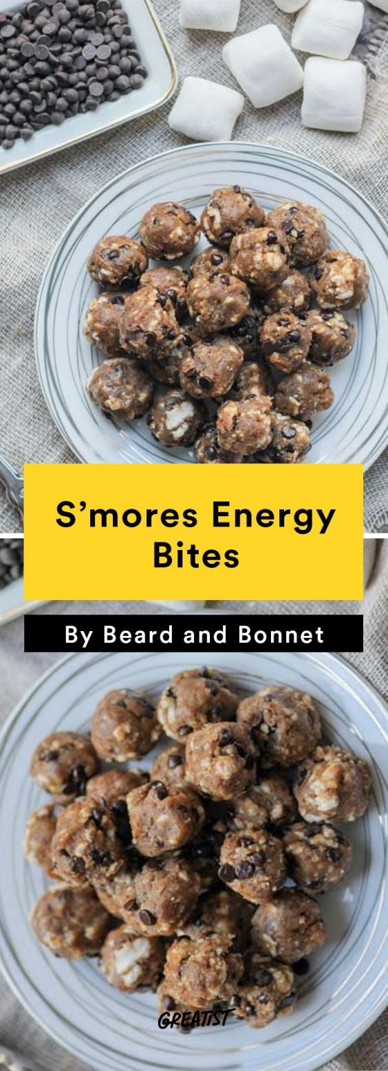 S'mores: Energy Bites