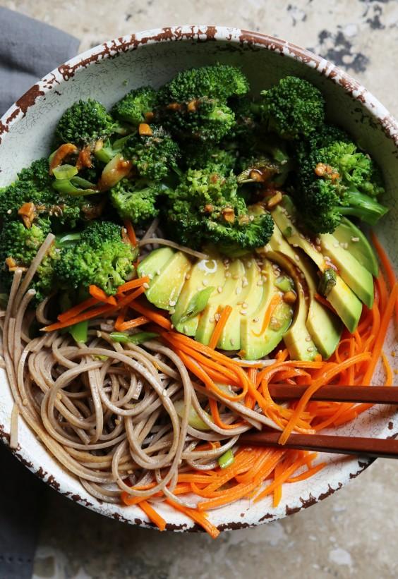Buddha bowls: Soba Noodle