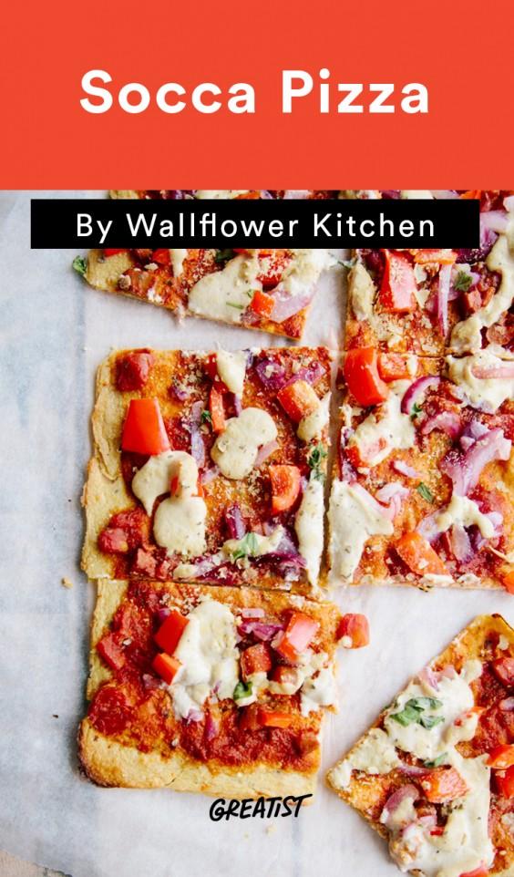 Chickpea Flour: Socca Pizza