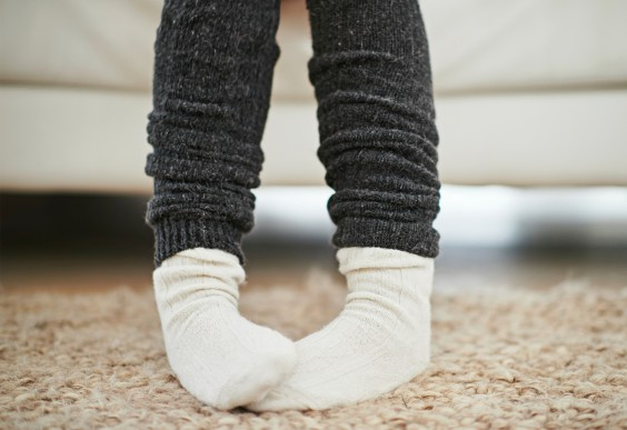 Stay Warm: Cover floors