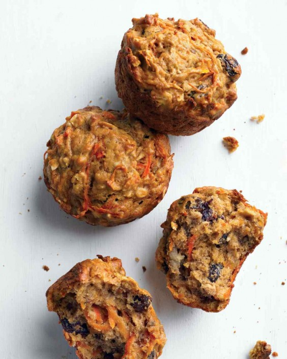 Healthy breakfast ideas 34 simple meals for busy mornings greatist healthy morning glory muffins forumfinder Image collections