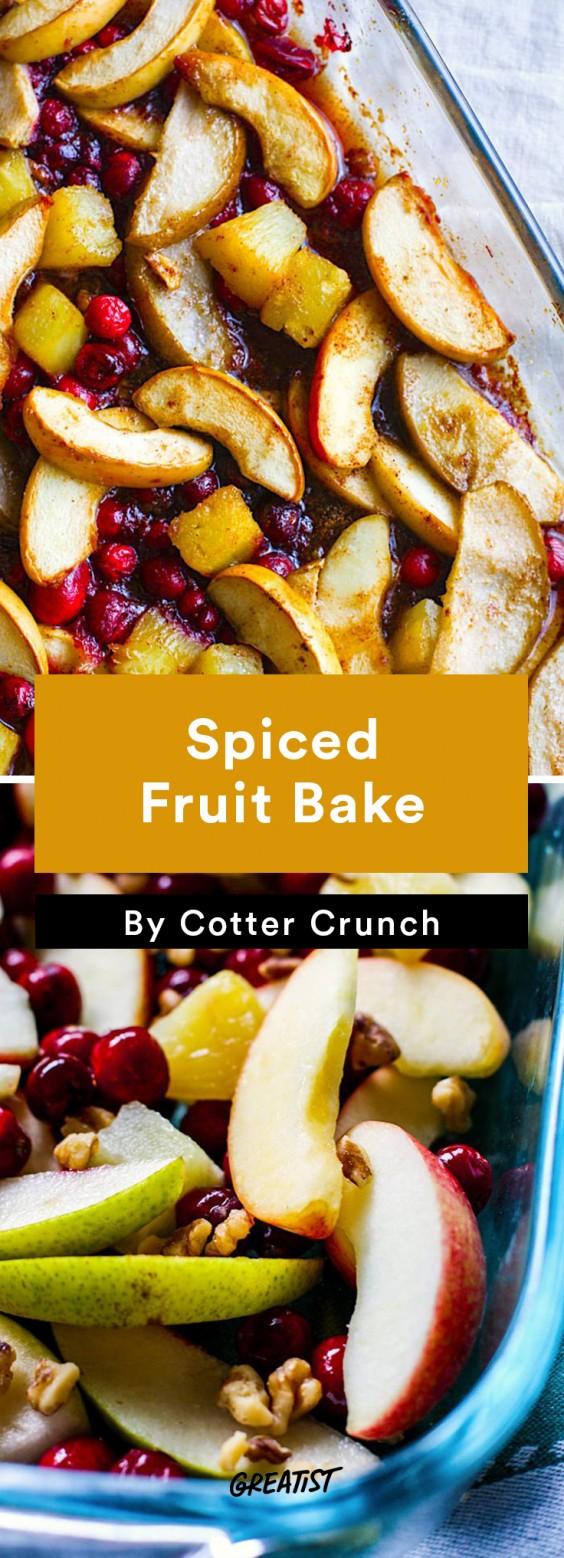Fall Brunch: Fruit Bake
