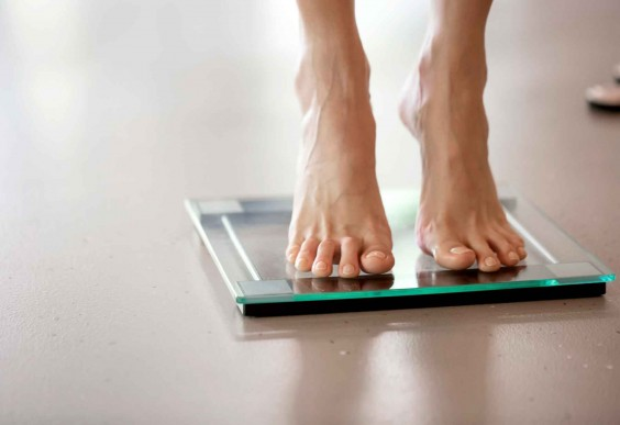 Stepping on Scale