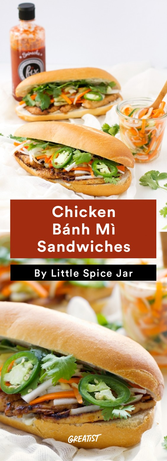 Street food recipes you can make at home greatist chicken bnh m sandwiches forumfinder Choice Image