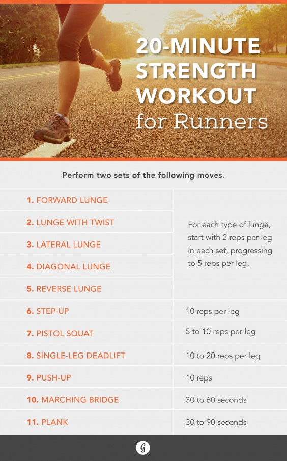 The Strength Moves Every Runner Should Be Doing | Greatist
