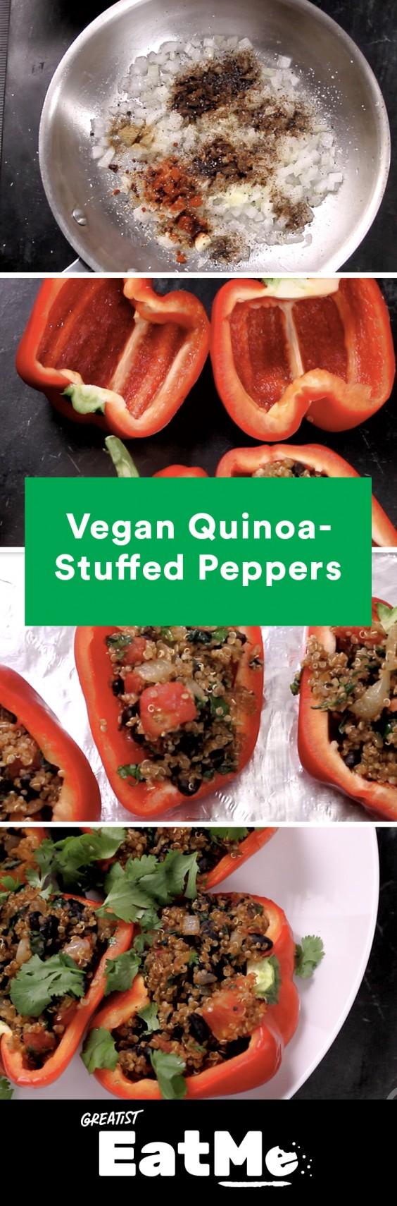 Eat Me Video: Quinoa-Stuffed Pepper