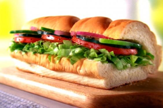 Subway: Vegan Sandwich