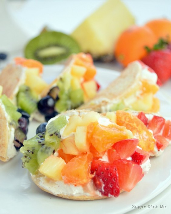 Healthy Tacos: Mini Fruit Tacos