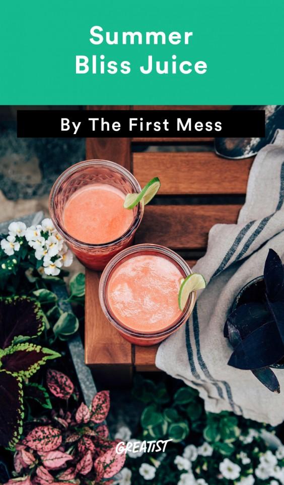 First Mess roundup: Summer Bliss Juice