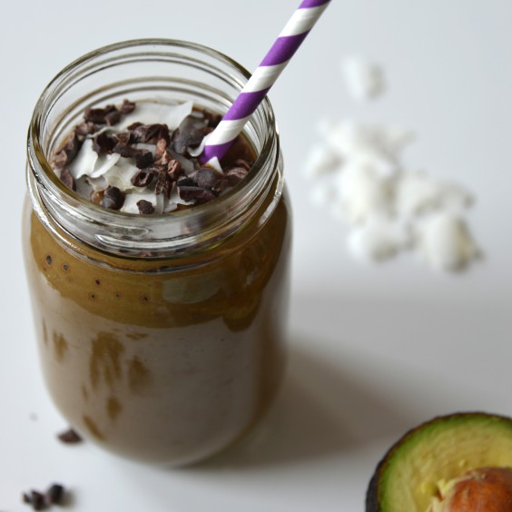Chocolate Sunbutter Cup Smoothie