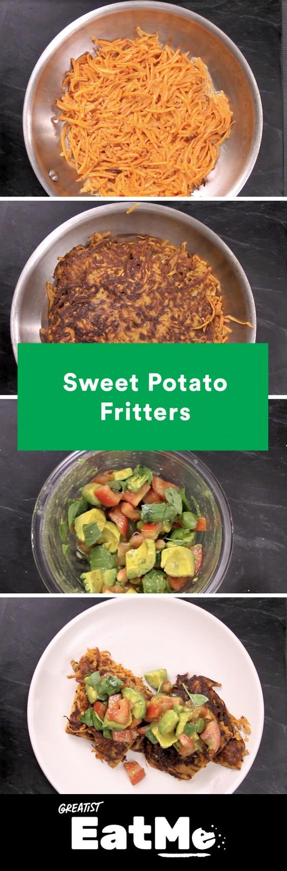 Eat Me Video: Sweet Potato Fritters