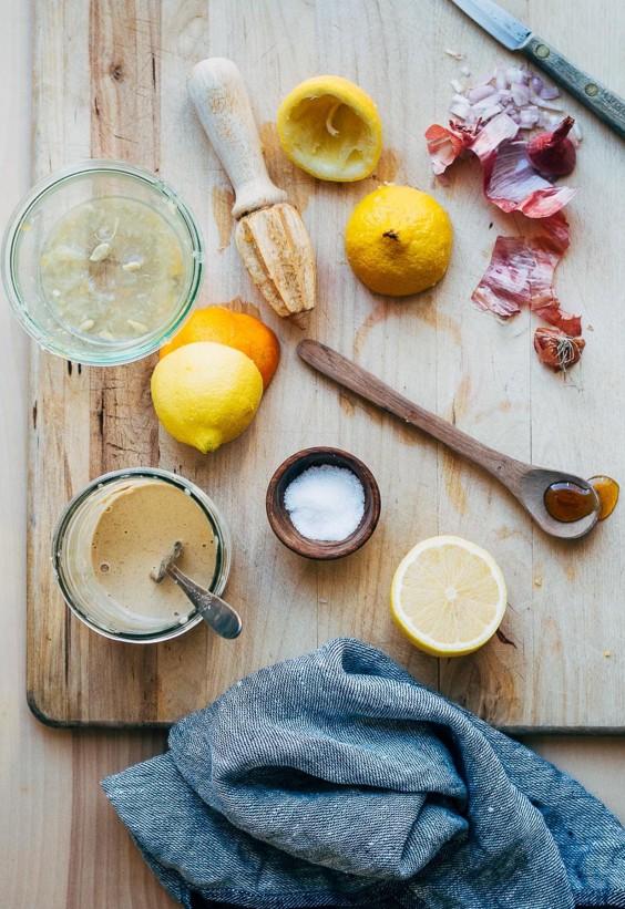 Tahini Uses: Tahini Citrus Dressing