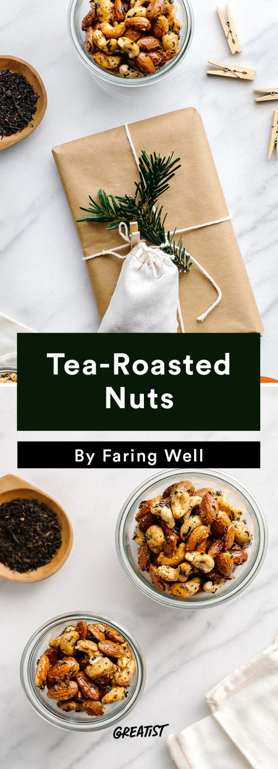 Travel Snacks: Tea-Roasted Nuts