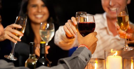 Thanksgiving Wine Toast