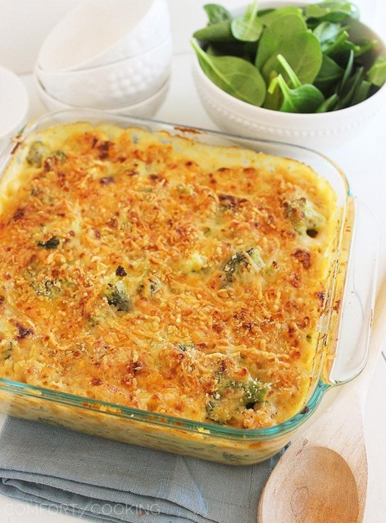 Freezer Meals: Baked Broccoli Mac and Cheese