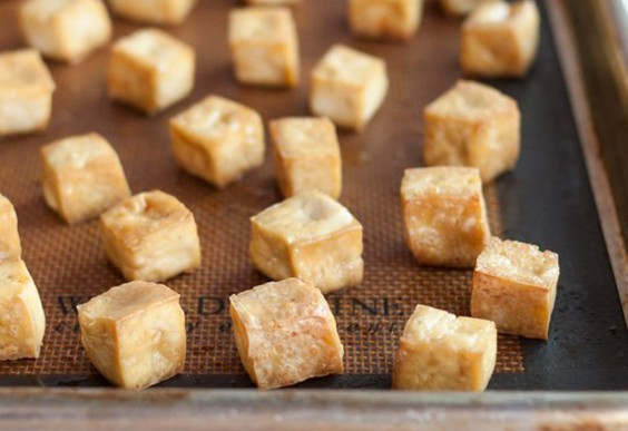 8. Baked Tofu