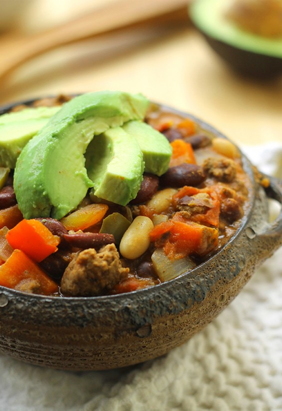 Pasta Sauce Recipes: One Pot Three Bean Chili