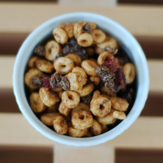 Healthy Cereal Trail Mix