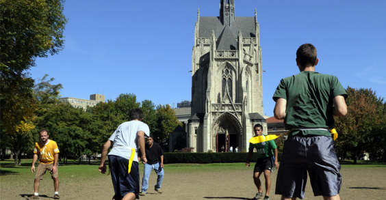 25 Healthiest Colleges: University of Pittsburgh