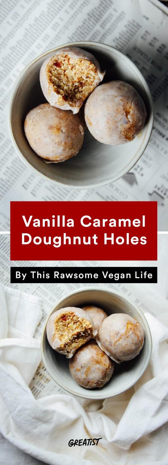 no dairy dessert: Doughnut Holes