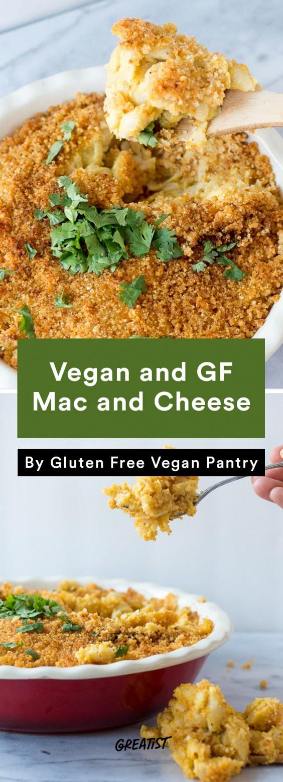 no dairy mac: Vegan and GF Mac and Cheese