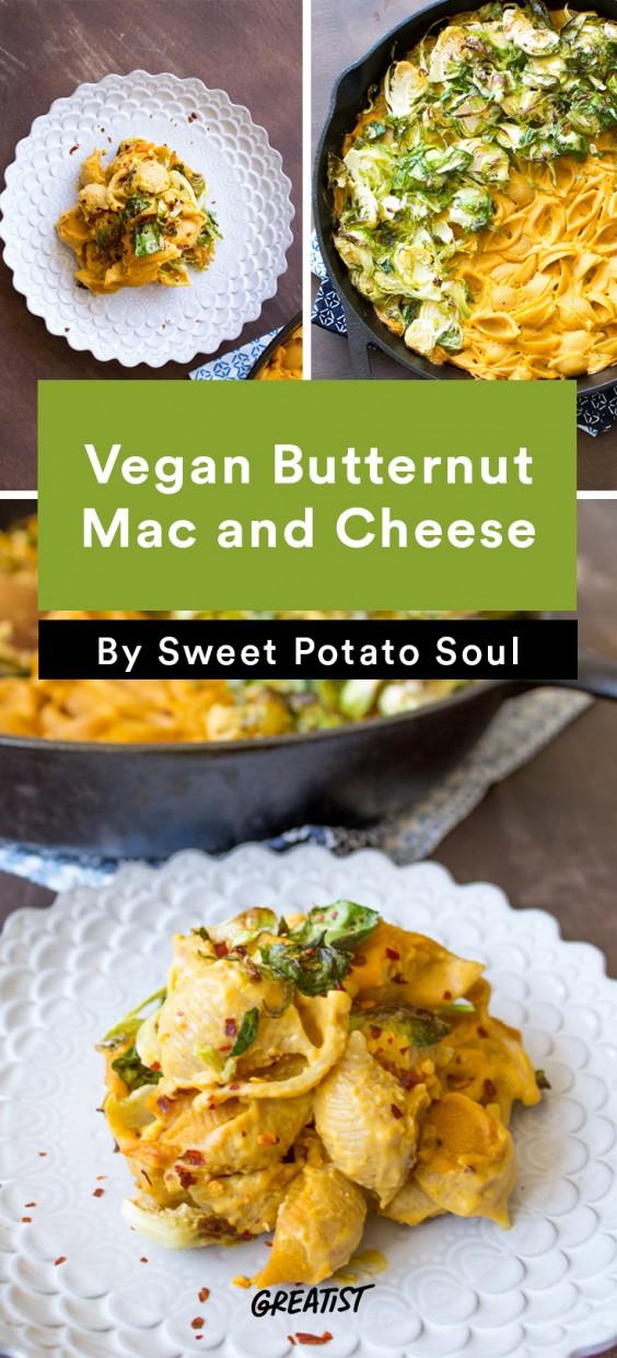 no dairy mac: Vegan Butternut Mac and Cheese